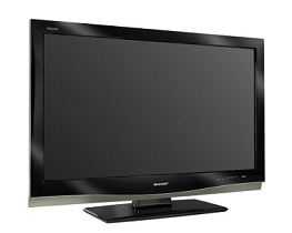 Green Sharp TV